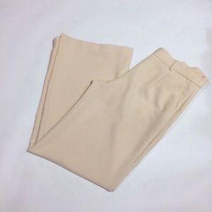 EXPRESS wide leg mid rise pink blush pants